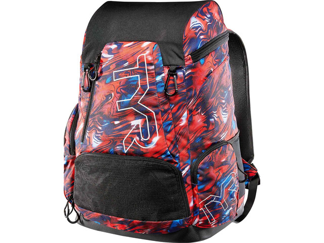 TYR Alliance Mercury Rising Print Backpack 45L, red/white/blue